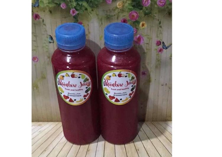 Diet Juice Beetroot Watermelon Passion Fruit Star Fruit