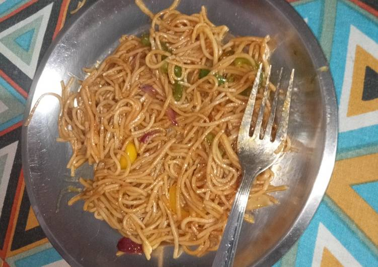 Recipe of Speedy Chinese Noodles