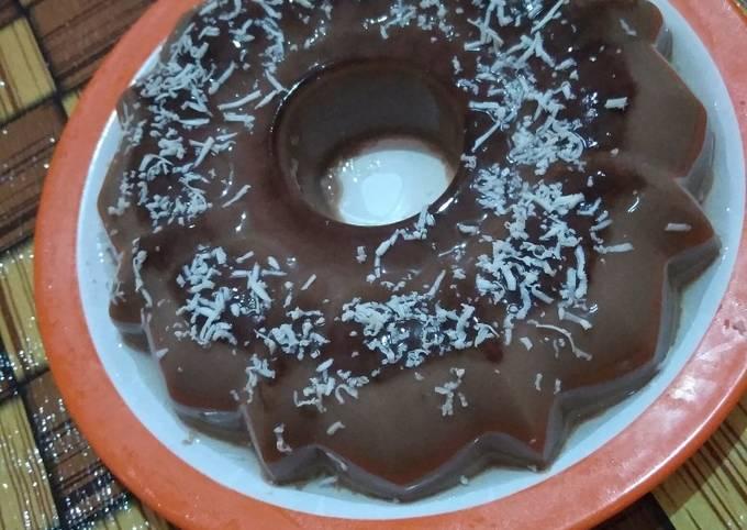 Puding Coklat Keju