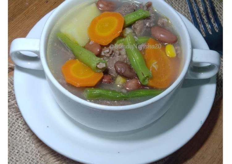 Sop Daging Kacang merah