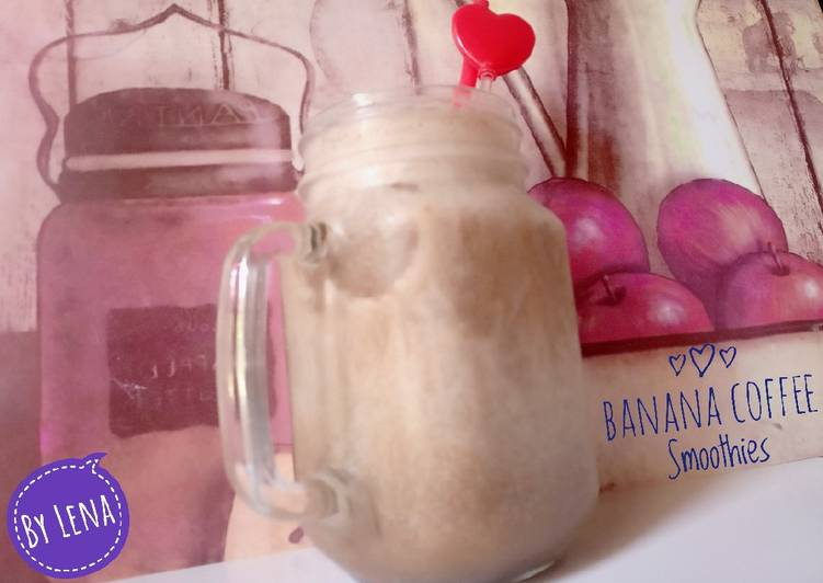 Banana Coffee Smoothies