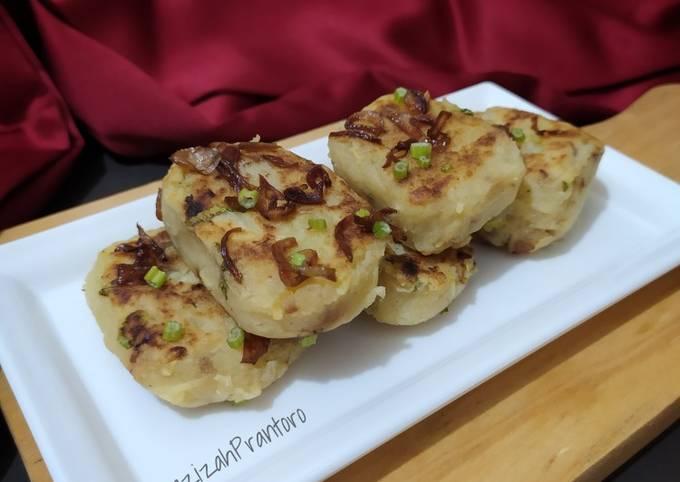 Perkedel kentang rendah kalori