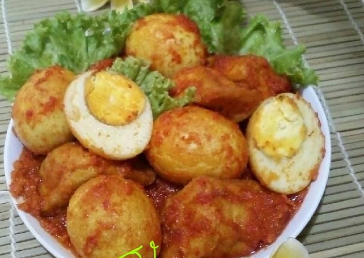 Telur & Tahu Bumbu Bali