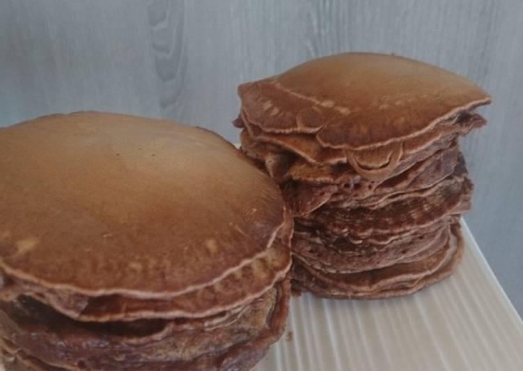 Pancakes express au chocolat