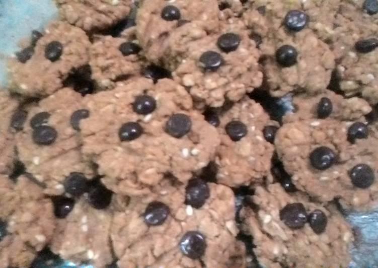 Oatmeal Cookies Gula Merah