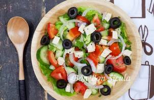 Salad Hy Lạp - Greek Salad