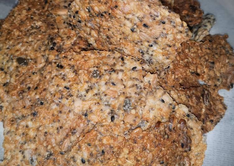 Recipe: Tasty Crackers aux graines et parmesan