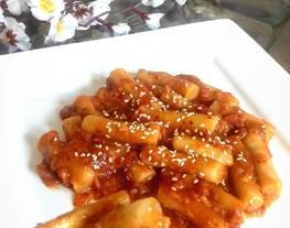Tteokbokki / toppoki / makanan korea