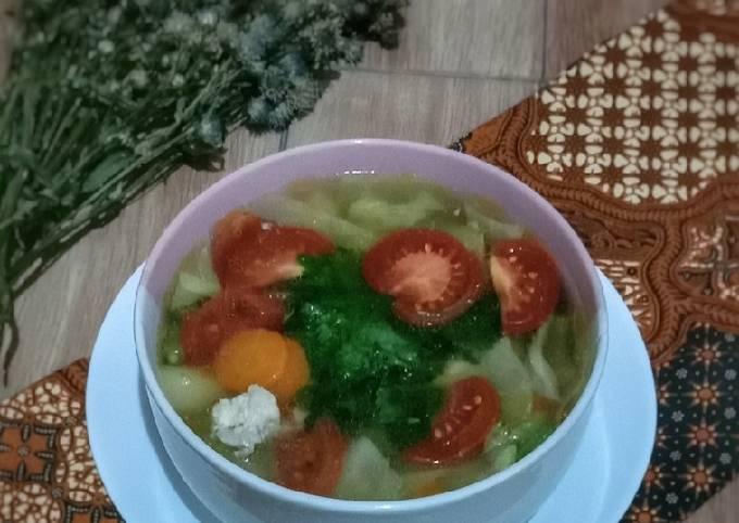 Resep Sup Ayam Simple yang Bikin Ngiler