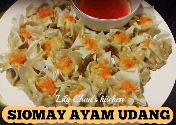Resep Siomay Ayam Udang Ala Lc Oleh Lily Chan S Kitchen Cookpad