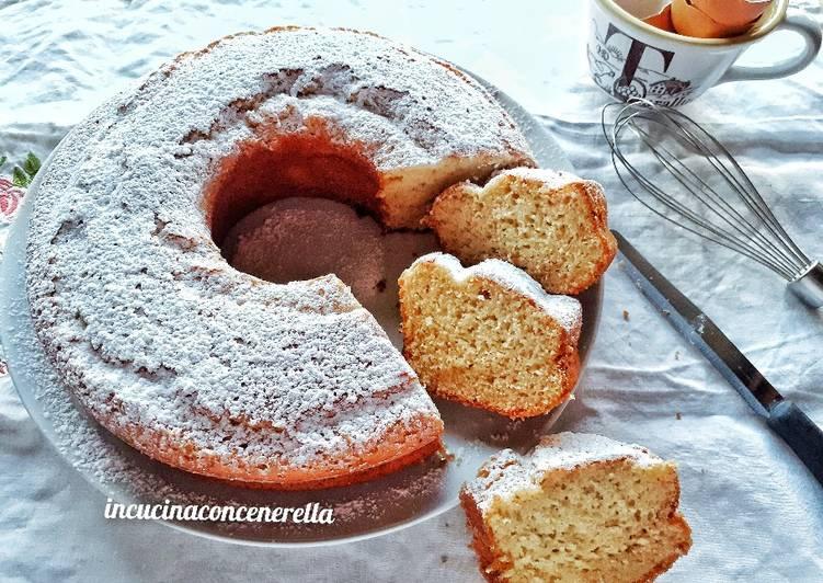 Ricetta Ciambella al latte condensato di zucchero di canna
