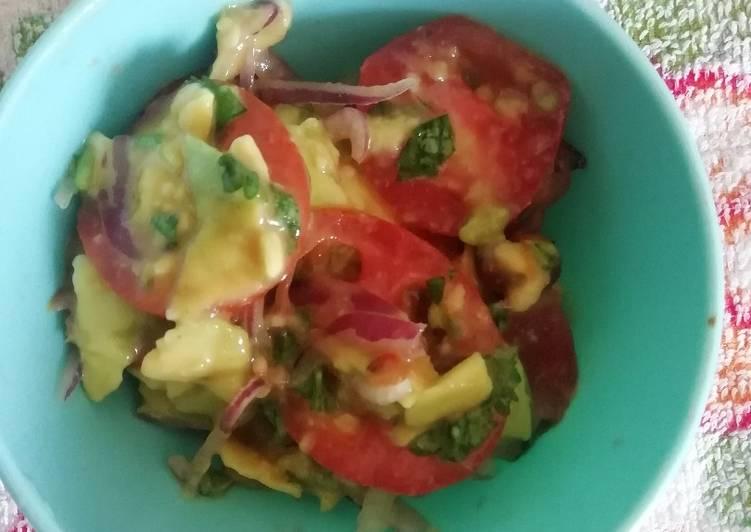 Simple guacamole#4weekschallenge