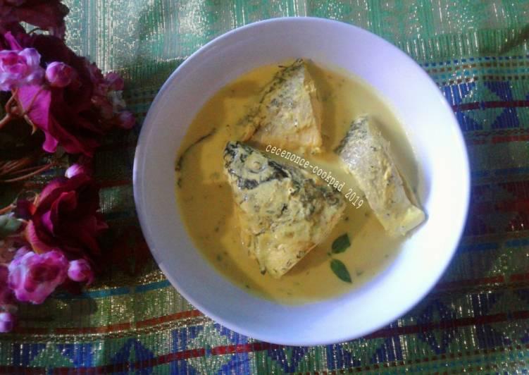 Gulai ikan Mas ala Rumah Makan Padang