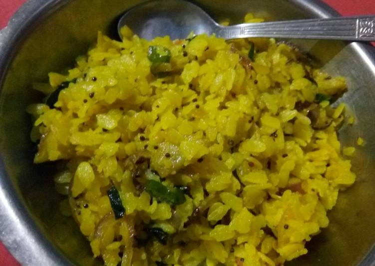 Onion Poha - Laurie G Edwards