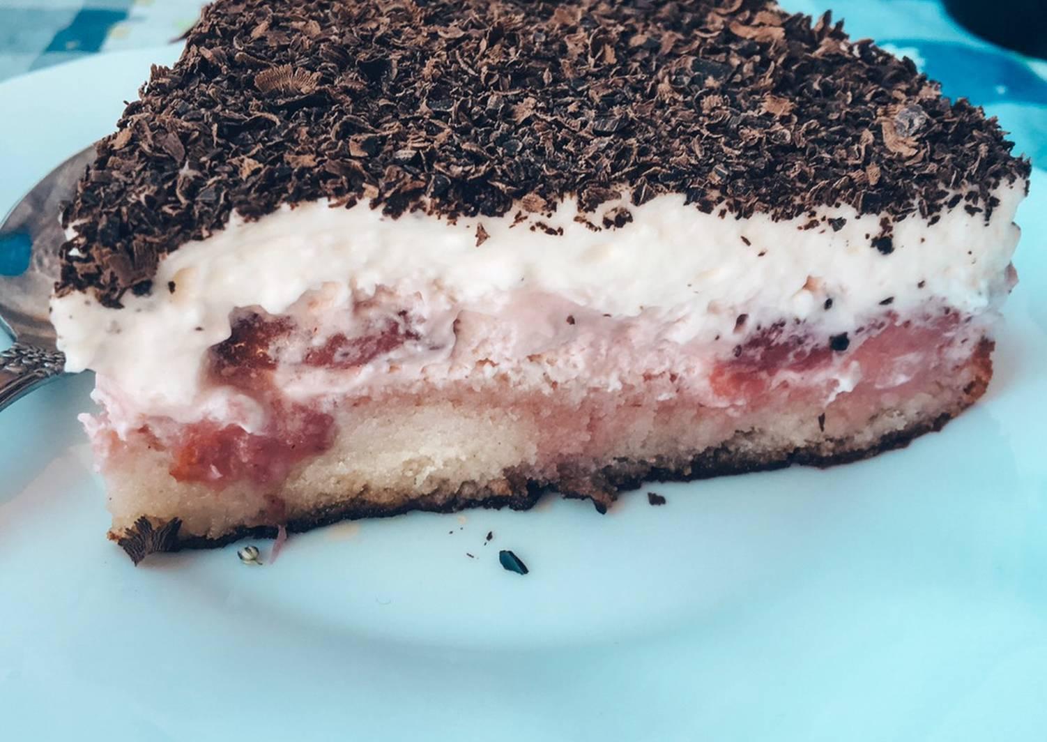торт из замороженной клубники рецепт с фото общим как