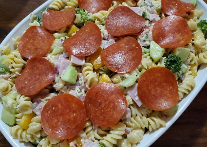 Easiest Way to Make Yummy All-In Italian Pasta Salad