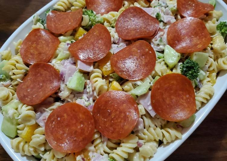 All-In Italian Pasta Salad