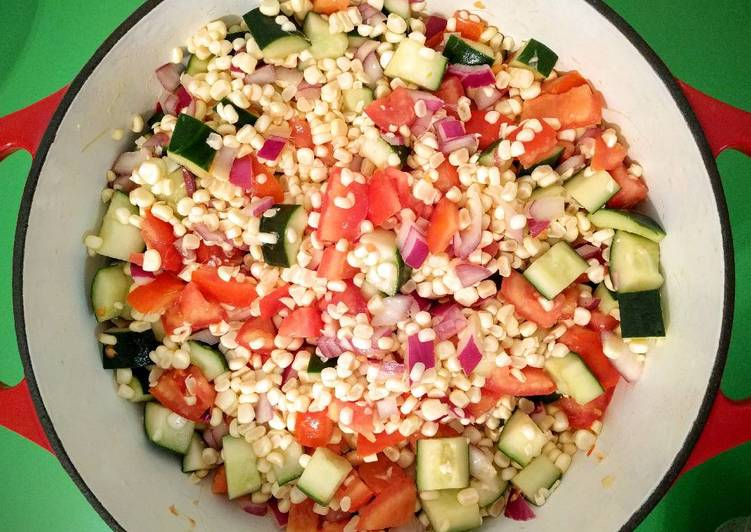 Step-by-Step Guide to Prepare Speedy Summer Corn Salad