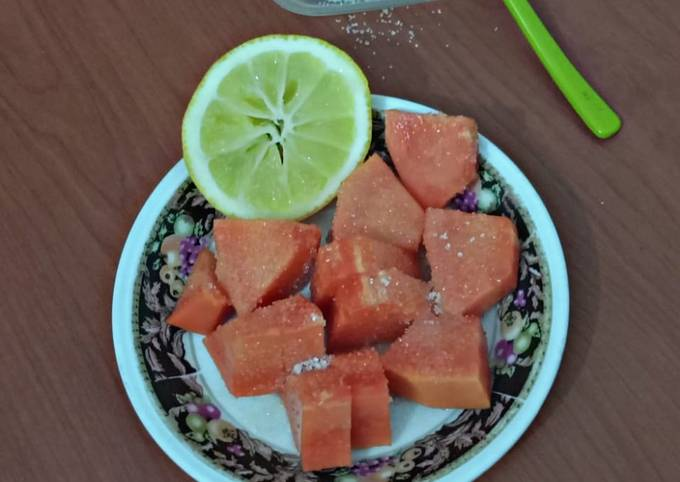 Salad Pepaya Simpel