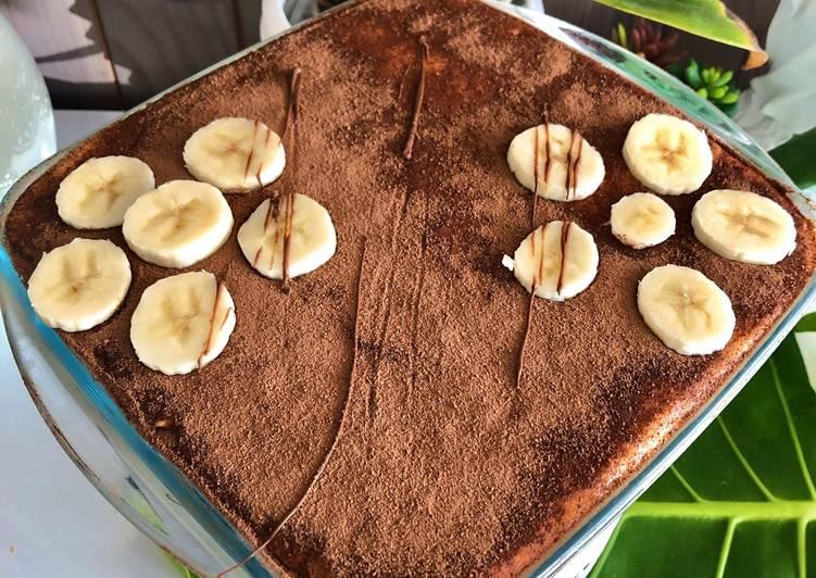 Comment Servir Tiramisu banane Nutella 🇮🇹
