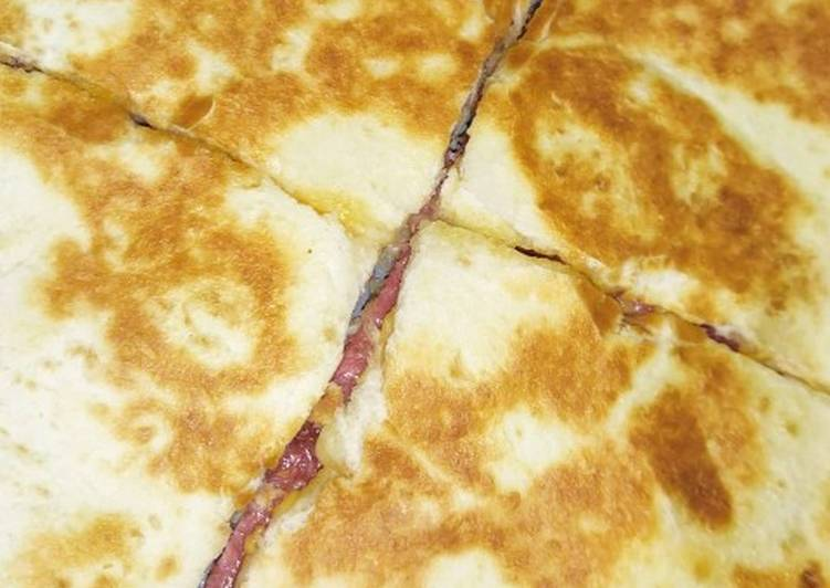 ♨️ Quesadillas aux fromages et chorizo ♨️