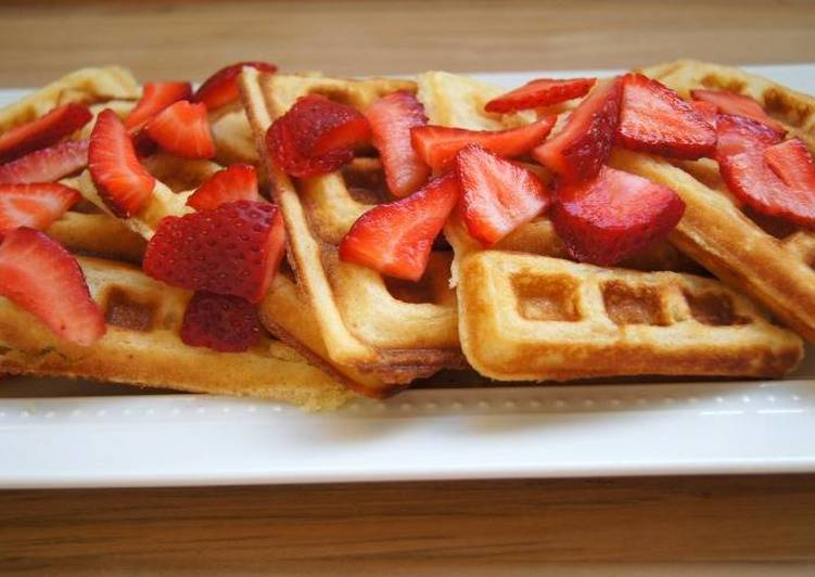 Recipe of Award-winning Easy-Breezy Waffles