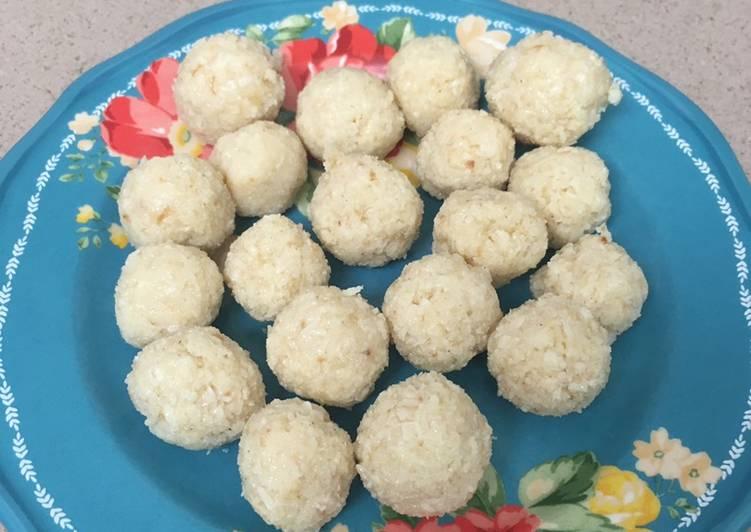 Recipe of Speedy Coconut Laddus