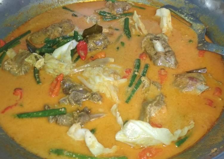 Gulai kambing resep mertua