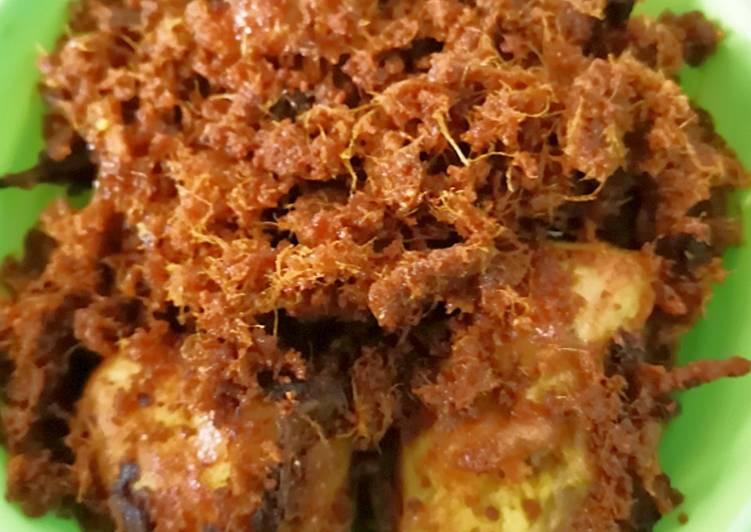 Ayam Bumbu - Ayam Goreng Padang - Sabana Minang Kabau