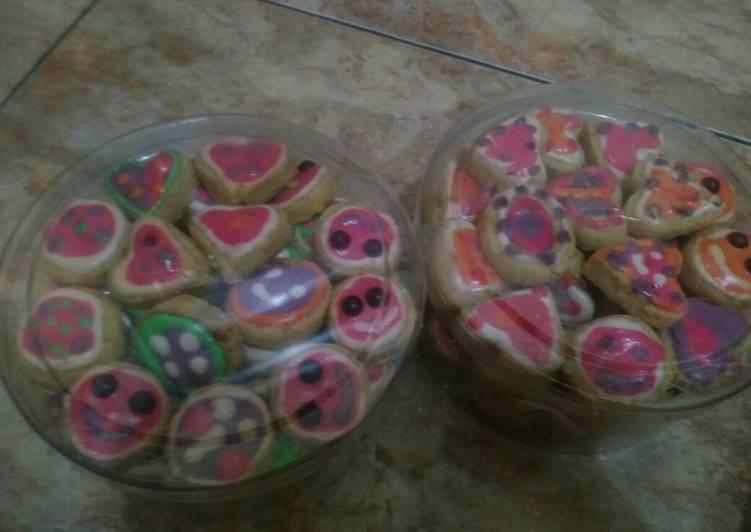 Kastengel cookies hias