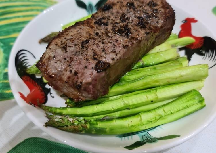 Simple Way to Make Favorite Airfryer Beef Steak