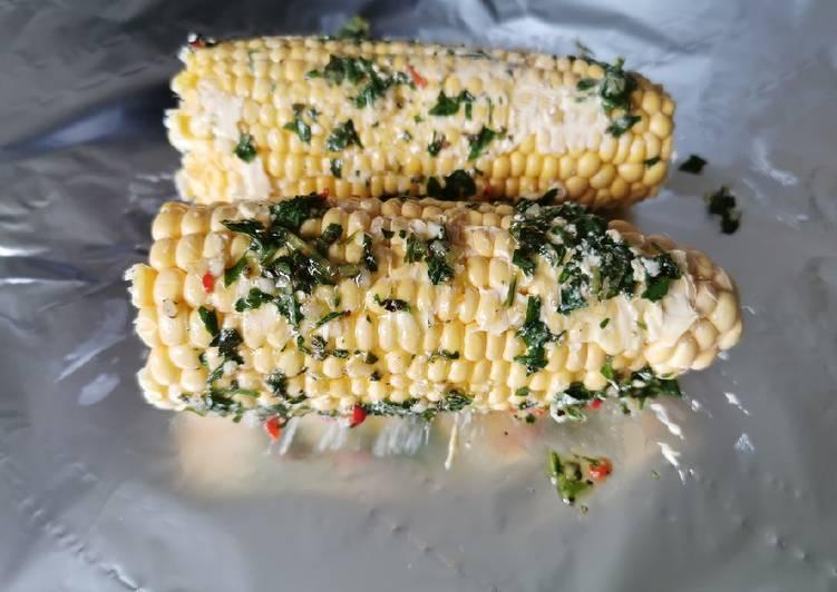 Easiest Way to Prepare Speedy BBQ Corn on the cob 🌽