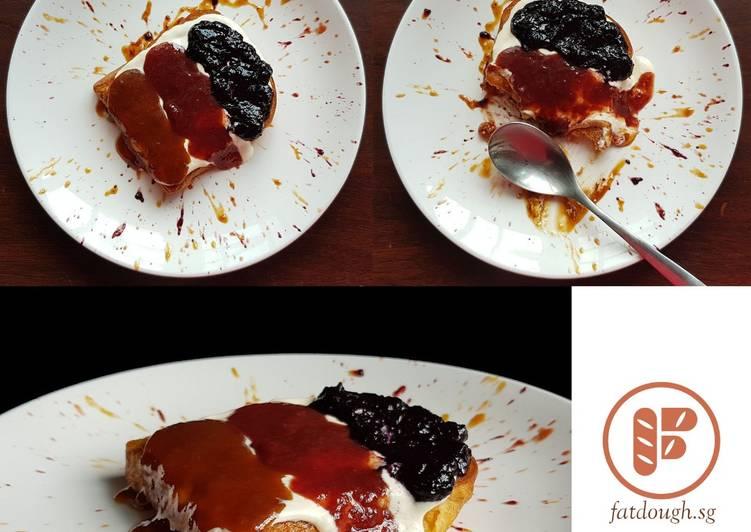 Jam on French Toast