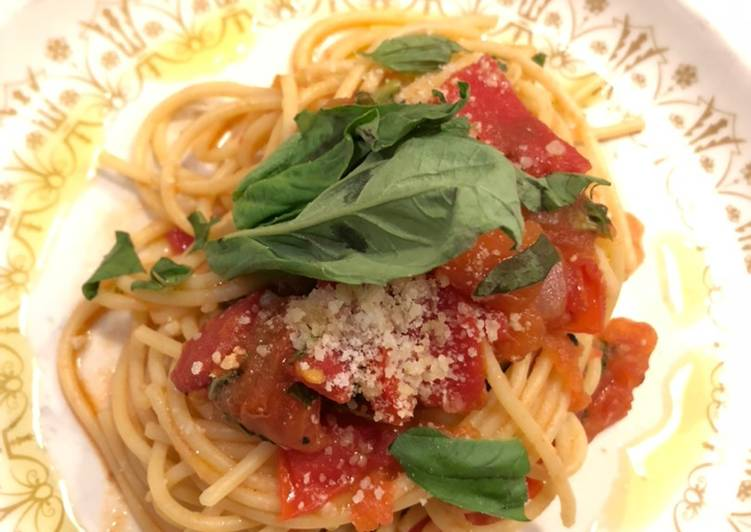 What are some Dinner Ideas Summer Tomato Basil Pasta