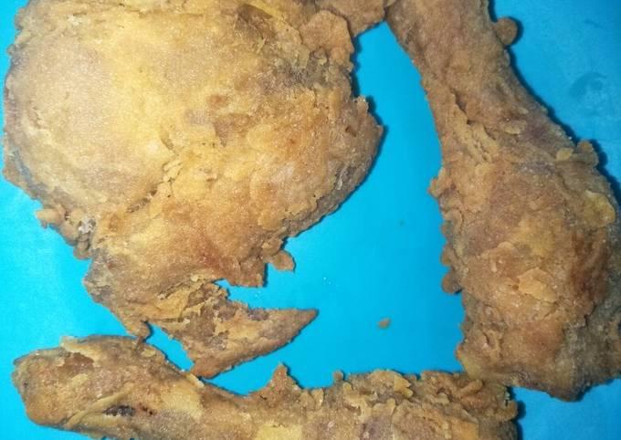 Resep Ayam goreng bumbu ungkep tepung sajiku yang Bikin Ngiler