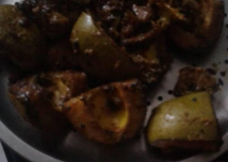 Steps to Prepare Super Quick Homemade Mango pickle