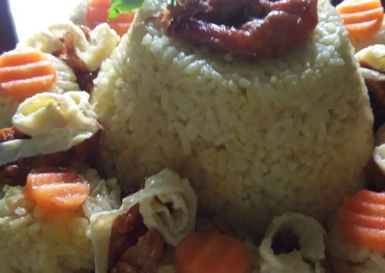 Nasi Kuning beranak