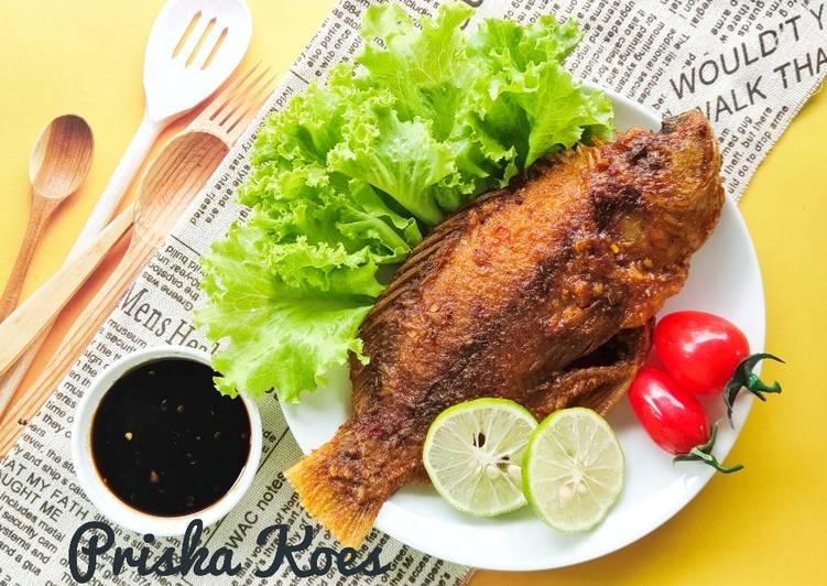 Nila Bakar Teflon Saus Barbeque
