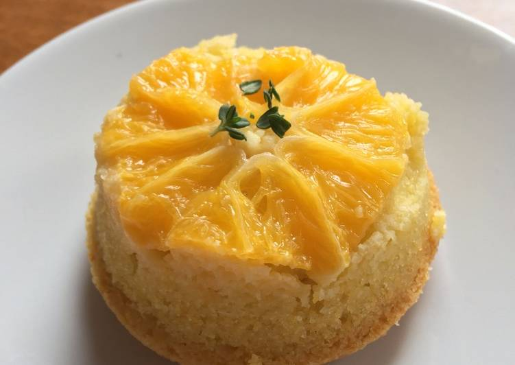 Recipe: Tasty Orange polenta tartlets