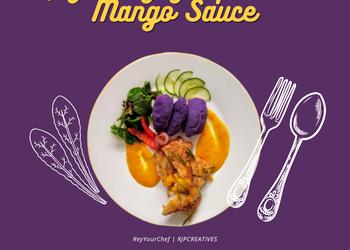 How to Cook Yummy Capiz Mangagat Fish in Mango Sauce And Malabar Salad