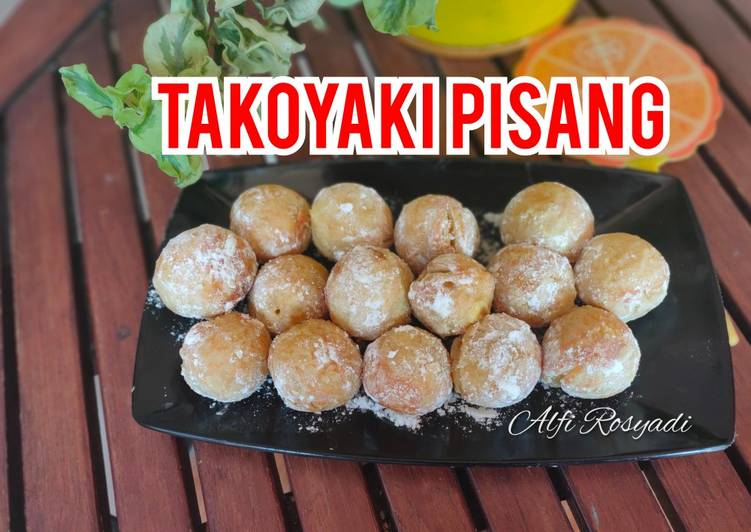 Takoyaki Pisang