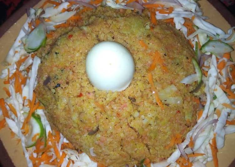 Dambu mai hadin kayan lambu Recipe by sadiyanuhumuhammad ...