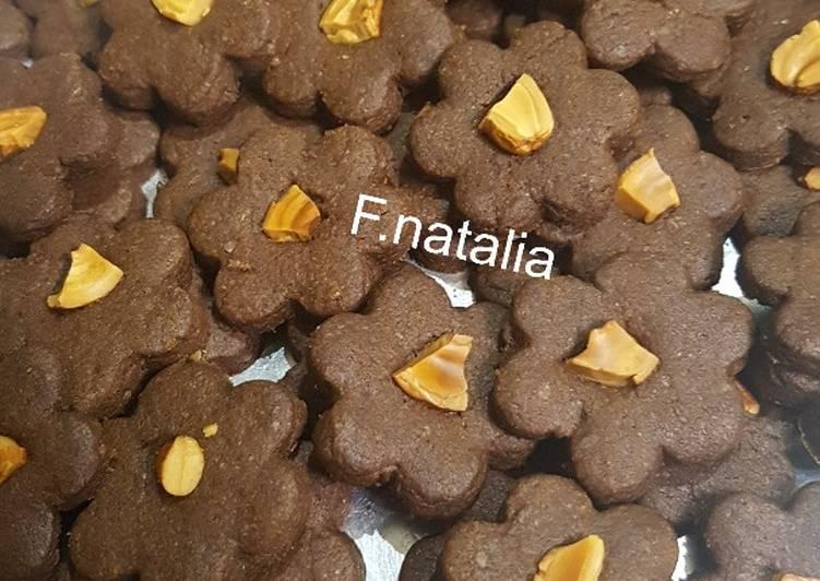 Cookies Coklat mente