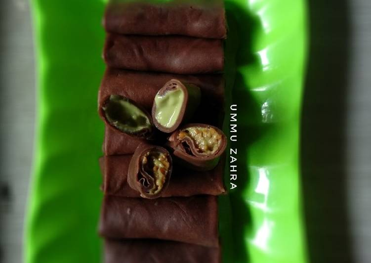 Resep Dadar Gulung Chocolatos
