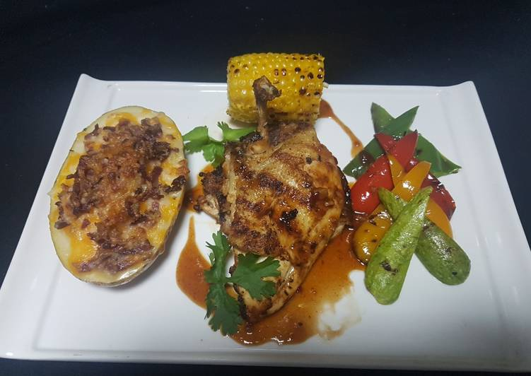 Easiest Way to Make Quick Grilled chicken churasco