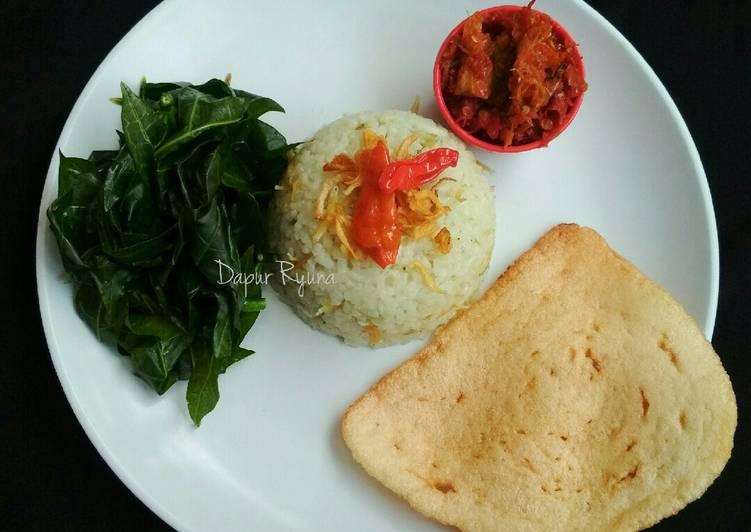 Nasi Liwet Praktis Rice Cooker