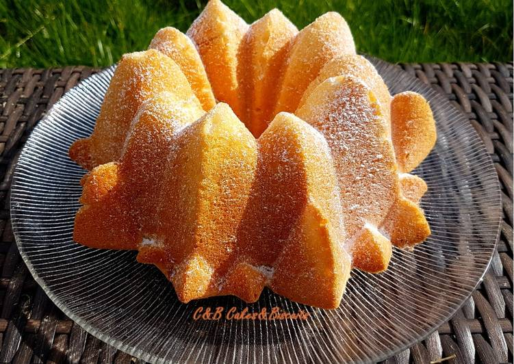 Recette Appétissante Le Gâteau Neige au Citron