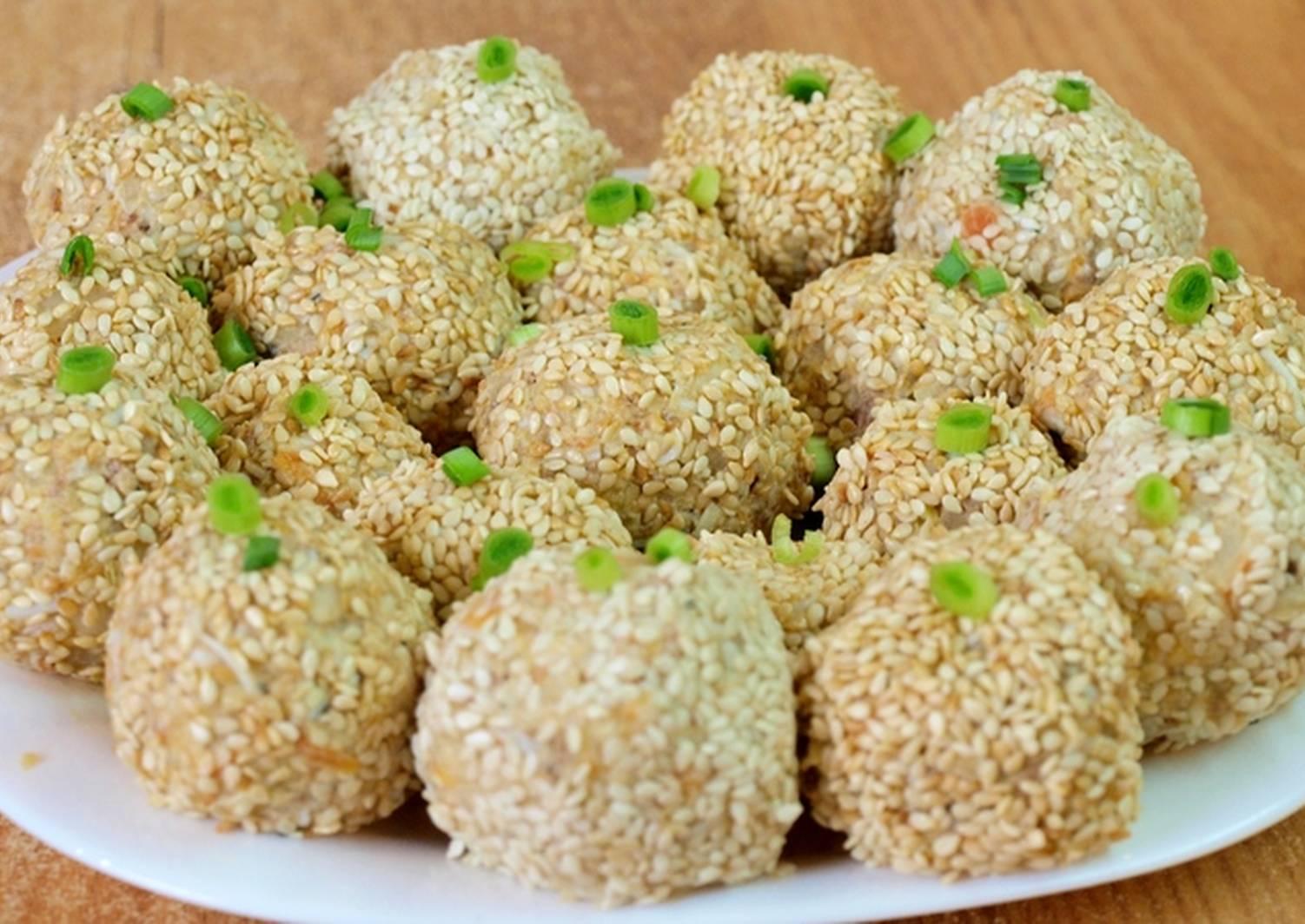 салатные шарики рецепты с фото