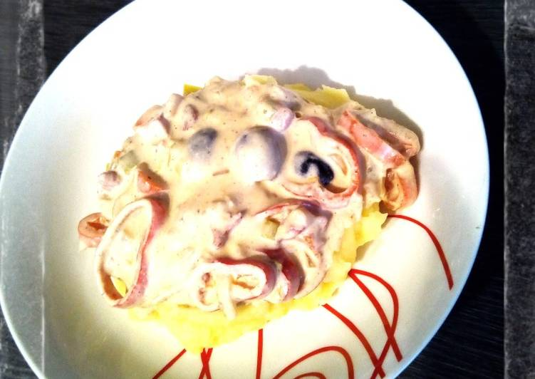 Buntes Allerlei mit Mascarpone & Kartoffelbrei 🍴