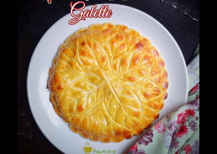 Spinach Potato Galette